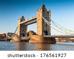 Tower Bridge In London In The...
