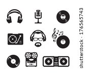 music. vector format | Shutterstock .eps vector #176565743