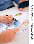 cropped image of business...   Shutterstock . vector #176614577