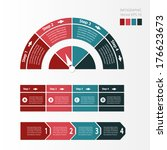 process chart module. vector... | Shutterstock .eps vector #176623673