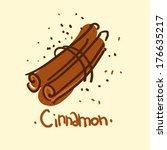 doodle sketchy simple vector... | Shutterstock .eps vector #176635217