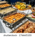 food served on the table   a.k... | Shutterstock . vector #176665103