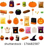 vector illustration of various... | Shutterstock .eps vector #176682587
