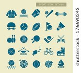 tiro con l'arco,basket,boxe,ciclismo,scherma,pesca,gioco del calcio,hockey su,mobile,canottaggio,tiro,pattinaggio,biliardo,campi da tennis,vector icons