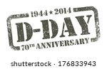 d day anniversary | Shutterstock .eps vector #176833943