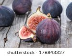 Portion Of Fresh Figs On...