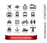 Infrastructure Buildings Icon...