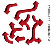 arrow pattern seamless. vector... | Shutterstock .eps vector #176950823