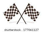 leather football  soccer ...   Shutterstock .eps vector #177061127