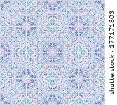 kaleidoscope  vector seamless... | Shutterstock .eps vector #177171803