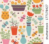 seamless pattern in vector  ... | Shutterstock .eps vector #177178427