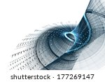 blue abstract background | Shutterstock . vector #177269147