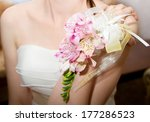 Wedding Bouquet Of Orchids And...
