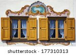 Typical Old Bavarian Facade  ...