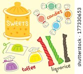 set of candy | Shutterstock . vector #177330653