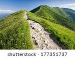 Mountain Ridge In Slovakia ...