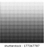 vector halftone dots | Shutterstock .eps vector #177367787