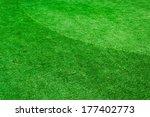 green grass background texture. | Shutterstock . vector #177402773