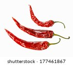 Three Red Chilli Peppers...