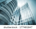panoramic and perspective wide... | Shutterstock . vector #177481847