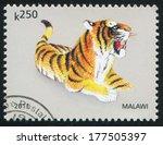 malawi   circa 2011  stamp...   Shutterstock . vector #177505397