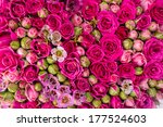 Stock photo abstract background of flowers 177524603