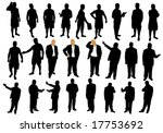 illustration of business people | Shutterstock .eps vector #17753692