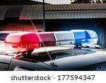 siren on police car | Shutterstock . vector #177594347