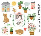art,basket,beautiful,bloom,bouquet,cactus,card,cartoon,cat,clip,clipart,color,comfort,decor,decoration
