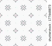 geometric seamless pattern in...   Shutterstock .eps vector #177668873