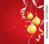 illustration of a christmas... | Shutterstock . vector #17778103