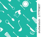 seamless vector pattern | Shutterstock .eps vector #177795857