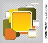 color background concept design ... | Shutterstock .eps vector #177810353