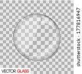 glass lens vector illustration | Shutterstock .eps vector #177816947