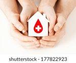 healthcare  medicine and blood... | Shutterstock . vector #177822923