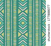 seamless geometric pattern with ... | Shutterstock .eps vector #177888077