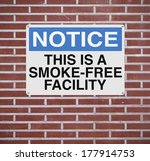 A Notice Sign Announcing A...
