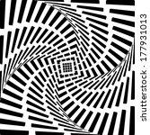 design square twirl movement... | Shutterstock .eps vector #177931013