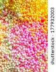 colorful polystyrene foam... | Shutterstock . vector #177932003