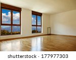 empty interior room and two... | Shutterstock . vector #177977303