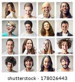 happy faces | Shutterstock . vector #178026443