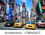 new york city   sep 5  times... | Shutterstock . vector #178062017