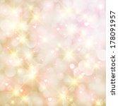 vector abstract heart bokeh... | Shutterstock .eps vector #178091957