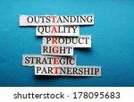 target  acronym  in business... | Shutterstock . vector #178095683