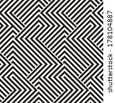 abstract ornate striped... | Shutterstock .eps vector #178104887