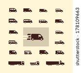 transportation. vector format | Shutterstock .eps vector #178109663