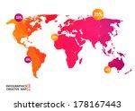 abstract creative concept... | Shutterstock .eps vector #178167443