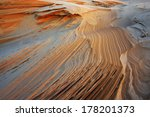 Abstract  Rippled Sand Pattern...