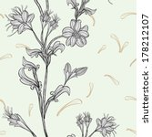 seamless floral background ... | Shutterstock .eps vector #178212107