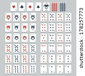 Vector Playing Cards  Flat Style